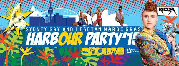 Harbour Party - Sydney Mardi Gras - acid stag