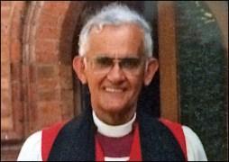 Bishop John Reid at St. George's Hurstville December 1986