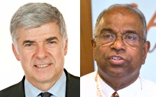 Canon Chris Sugden and Dr Vinay Samuel