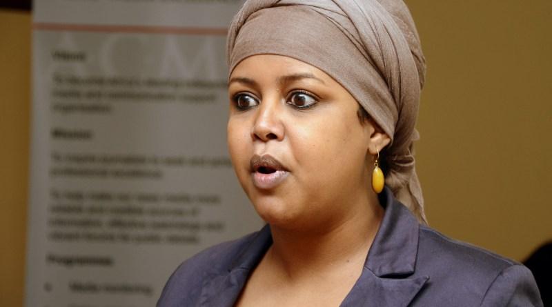 Speak out against online attacks against women – Fatuma Abdulahi