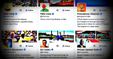 The 18 profiles President Museveni follows on Twitter