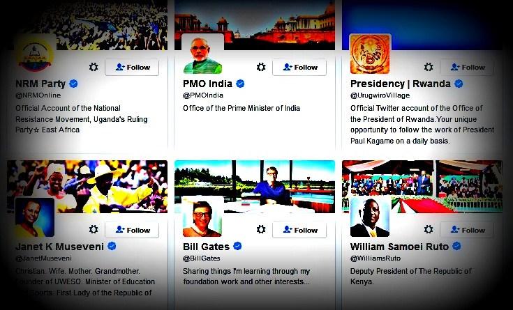 The 18 profiles President Museveni follows on Twitter
