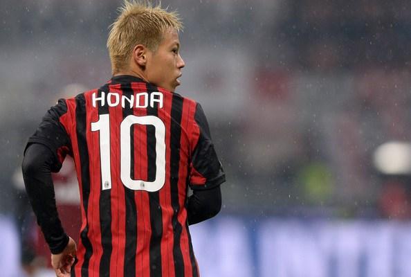 Keisuke+Honda+AC+Milan