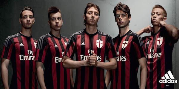 Maillot Domicile AC Milan nouveau