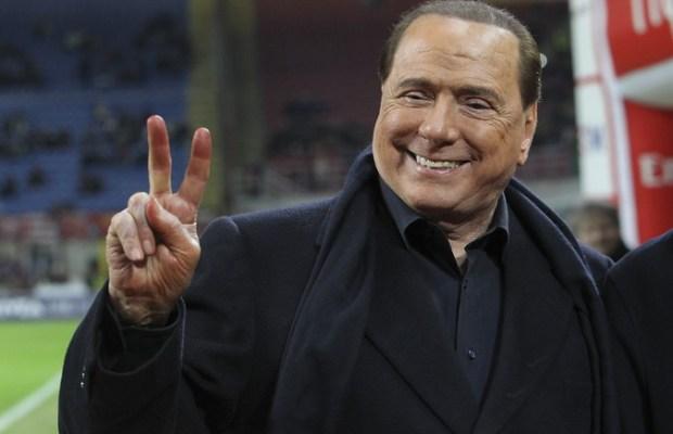 Berlusconi - AC Milan v SS Lazio - Serie A