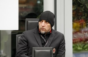 Christian Abbiati during Serie A match between Milan v Chievo Verona, in Milan, on March 18, 2018 (Photo by Loris Roselli/NurPhoto).