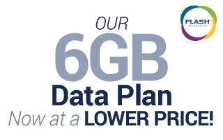 Flash Wireless 6GB Data Plan