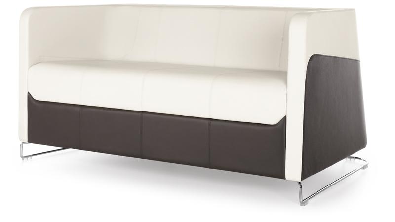 Granite 2-seater sofa 34front