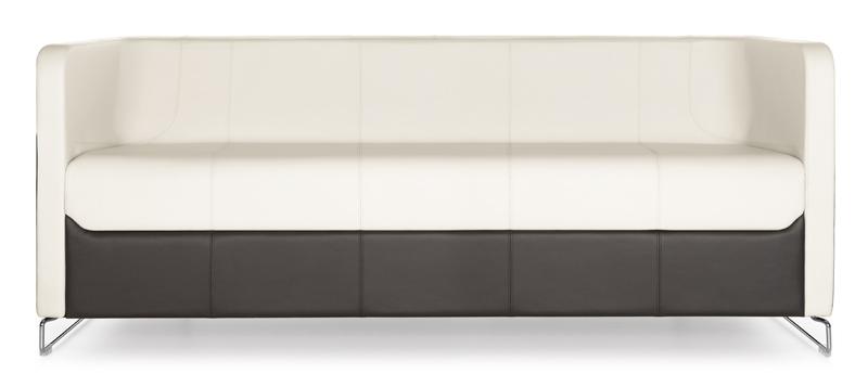 Granite 3-seater sofa front