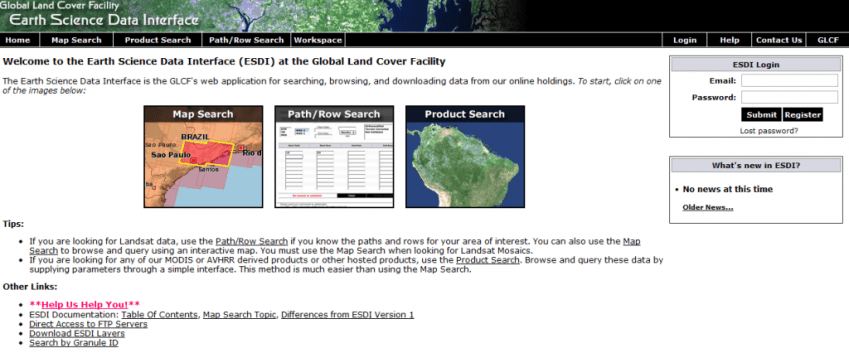 Earth Science Data Interface (ESDI)