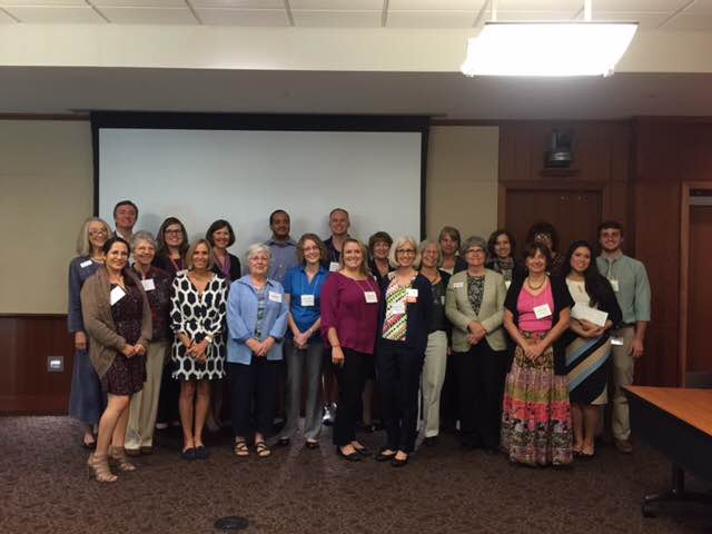 The UF Medical Guild Special Projects Committee awarded 13 organizations $35,000 in October to support their work. ACORN Clinic (Candice King, Executive Director, at far front right of photo) received funding to provide test strips for our patients with diabetes and to replace several handpieces in the dental clinic - worn out from heavy usage over the last 15 years!