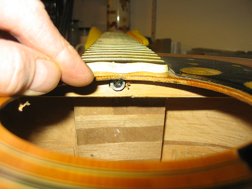 Yamaha Acoustic Guitar Neck Adjustment