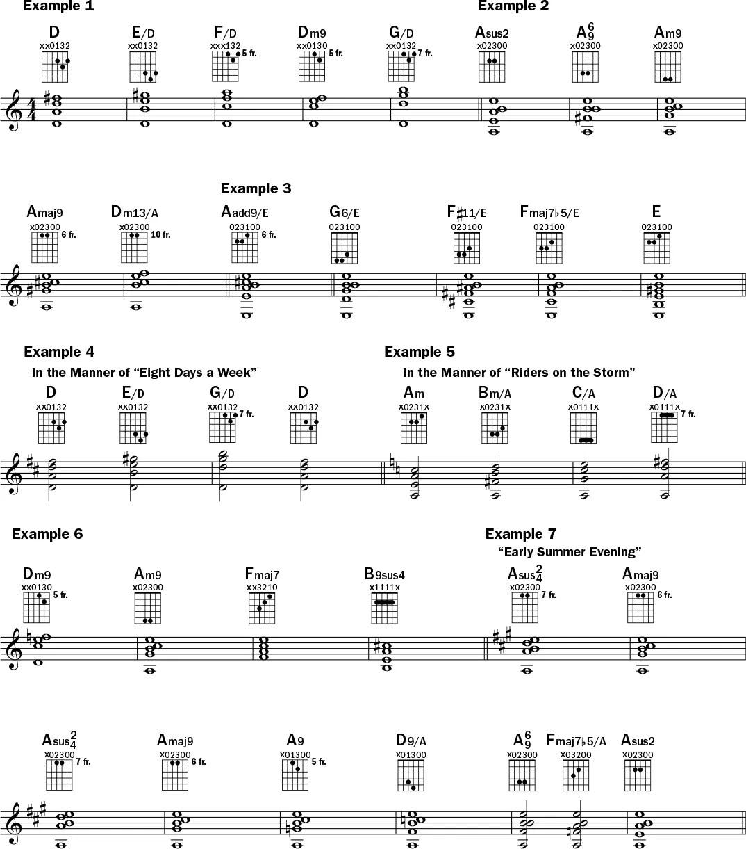 Lesson Expanding Your Harmonic Palette Acoustic Guitar