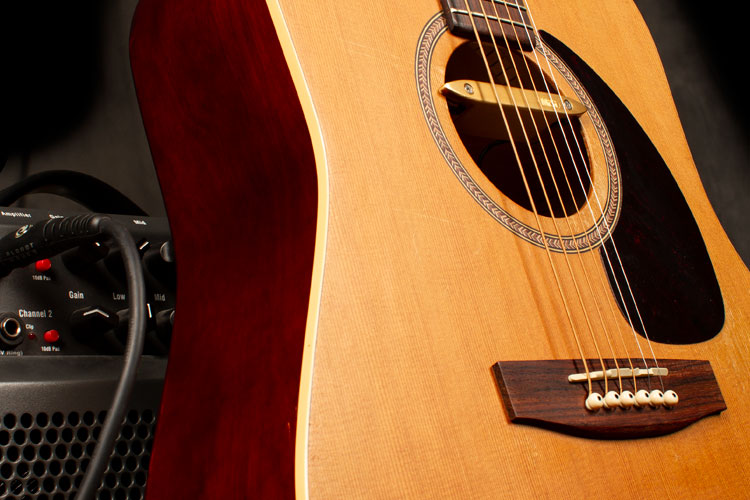 Get Heard A Guide To Acoustic Guitar Pickups And Amplification