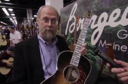 Bourgeois Guitars Acoustic Guitar NAMM 2016