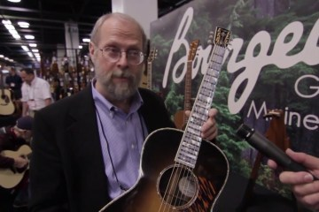 Bourgeois Guitars Acoustic Guitar NAMM 2016