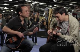 Daniel Ho and Jeff SchroederAcoustic Guitar Session NAMM 2016