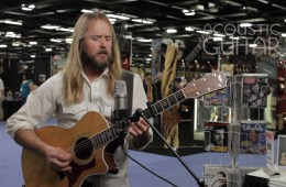 Chi McClean Acoustic Guitar Session NAMM 2016