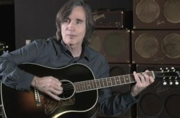 Jackson Browne Gibson Guitars photo