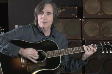 Jackson Browne Gibson Guitars photo