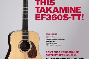 Takamine Giveaway AD16