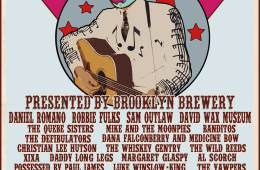 2016 Brooklyn Country Cantina Acoustic Guitar Stage SXSW