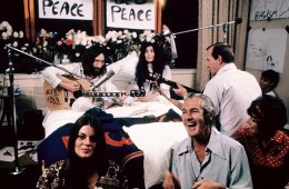 john lennon yoko ono bed-in montreal give peace a chance