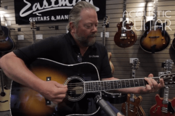 eastman guitar summer namm 2016 e40d