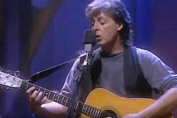 Paul McCartney MTV Unplugged 1991 Beatles