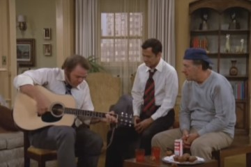 Roy Clark on the Odd Couple