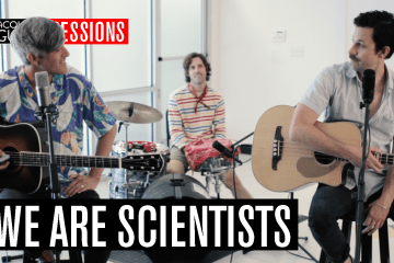 We Are Scientists - Acoustic Guitar Session