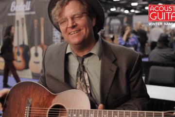Santa Cruz Catfish Keith Special Guitar NAMM 2017