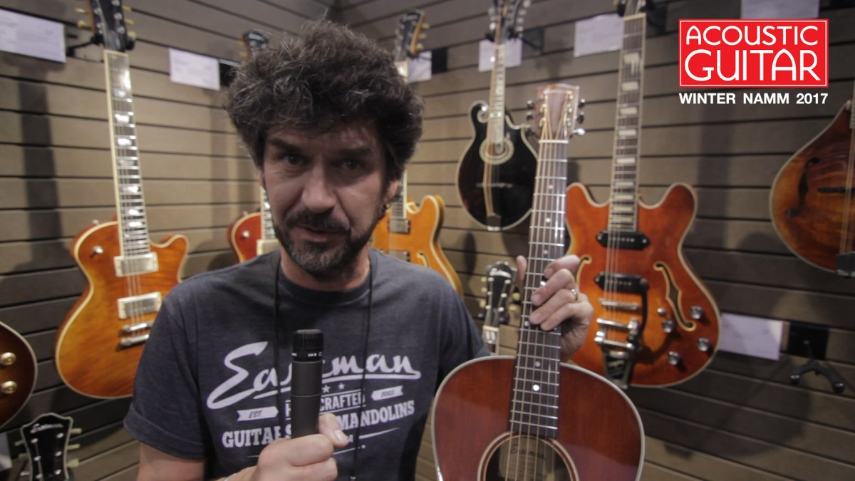 Check Out Eastman S New Custom Guitars Antique Series