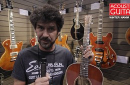 Winter NAMM 2017_Eastman Acoustic Guitar