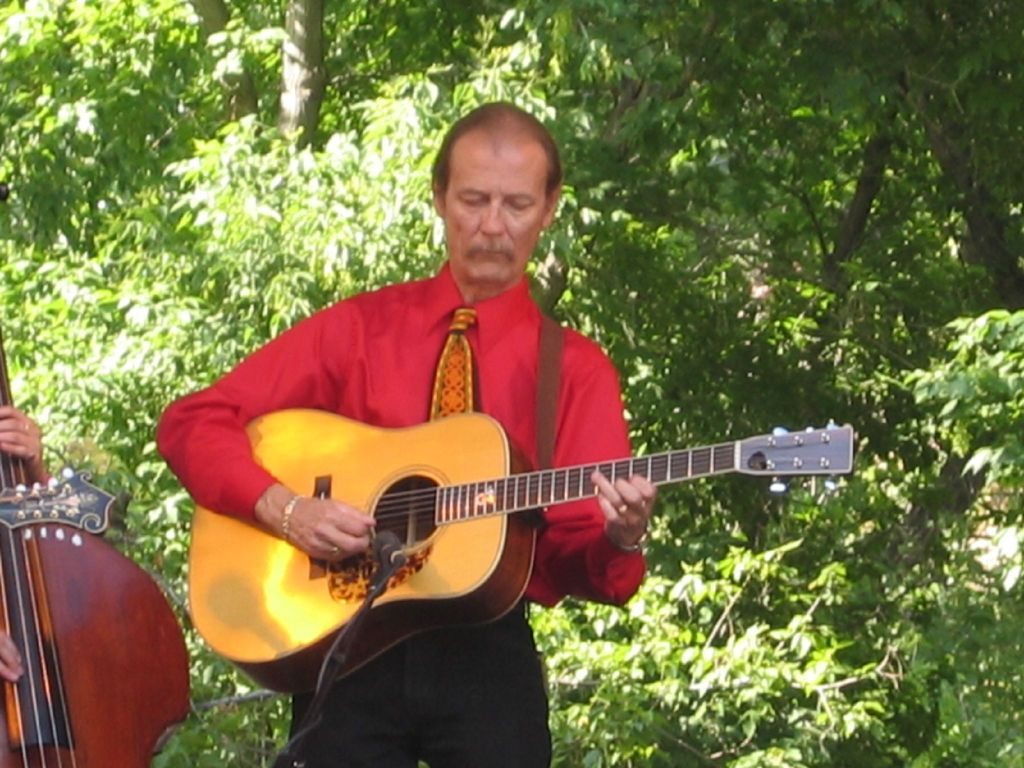 """Tony Rice knows how to take a melody and """"play with it"""" to add variety and individuality."""