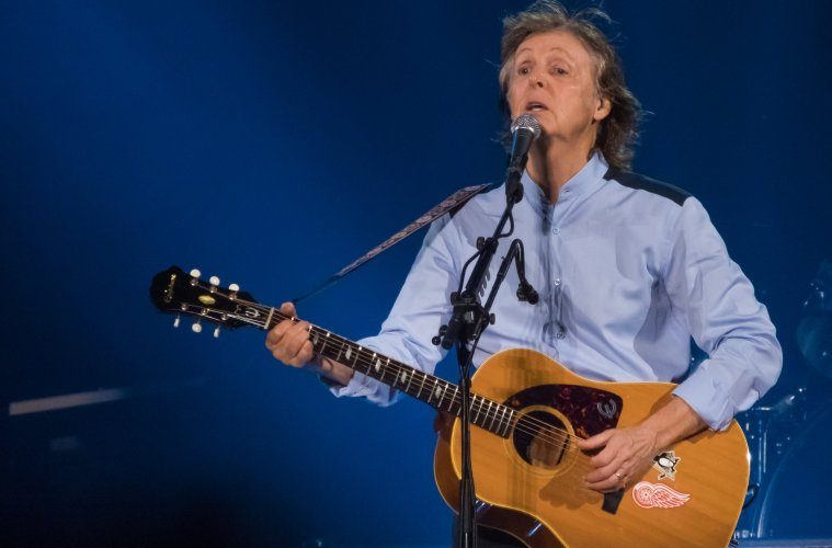 Paul McCartney in Syracuse, NY Photo: Sandy Roe/Juan Junco