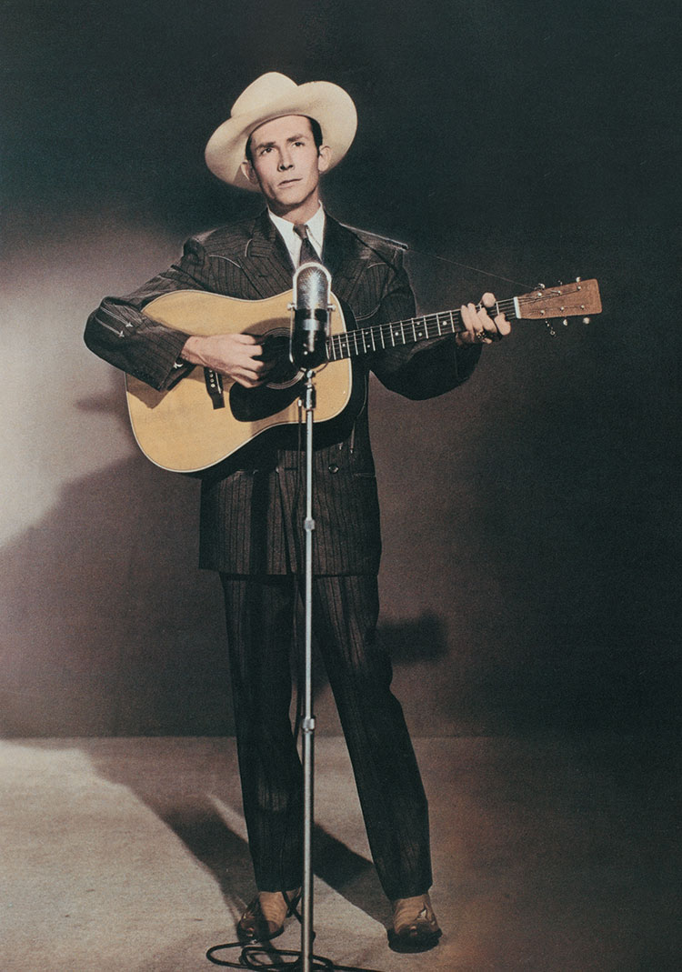 Hank Williams and his Martin D-28