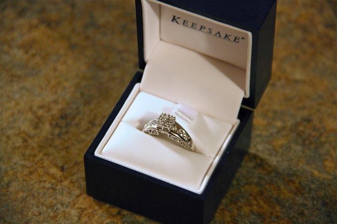 Keepsake Melody Wedding Ring