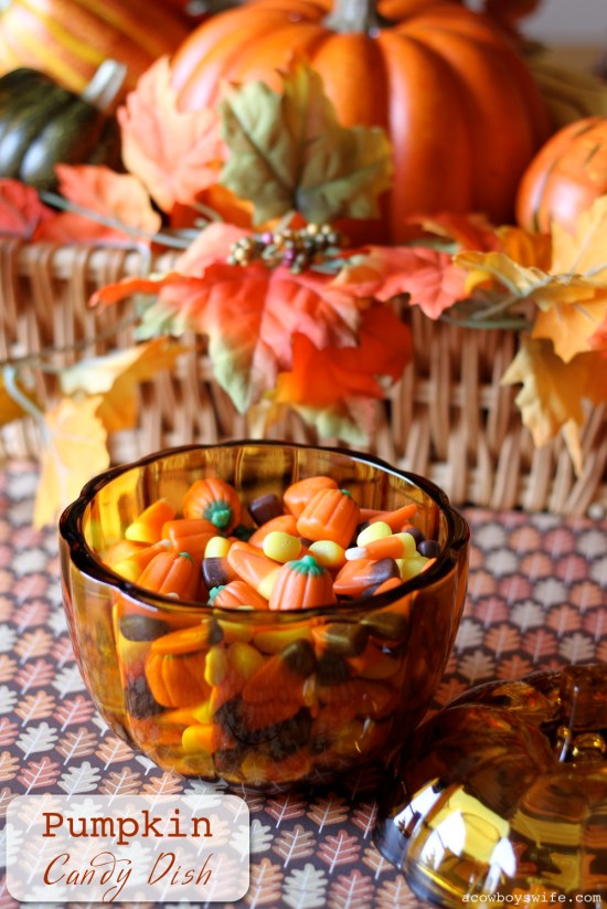 Pumpkin Candy Dish