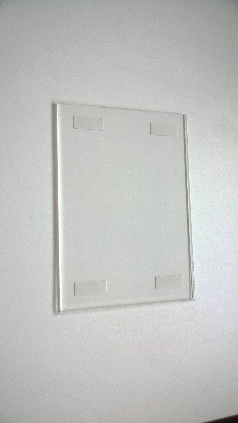 Supreme Wall Frame Vertical Tape Acriglobal Sided Frame A4 Sided ...