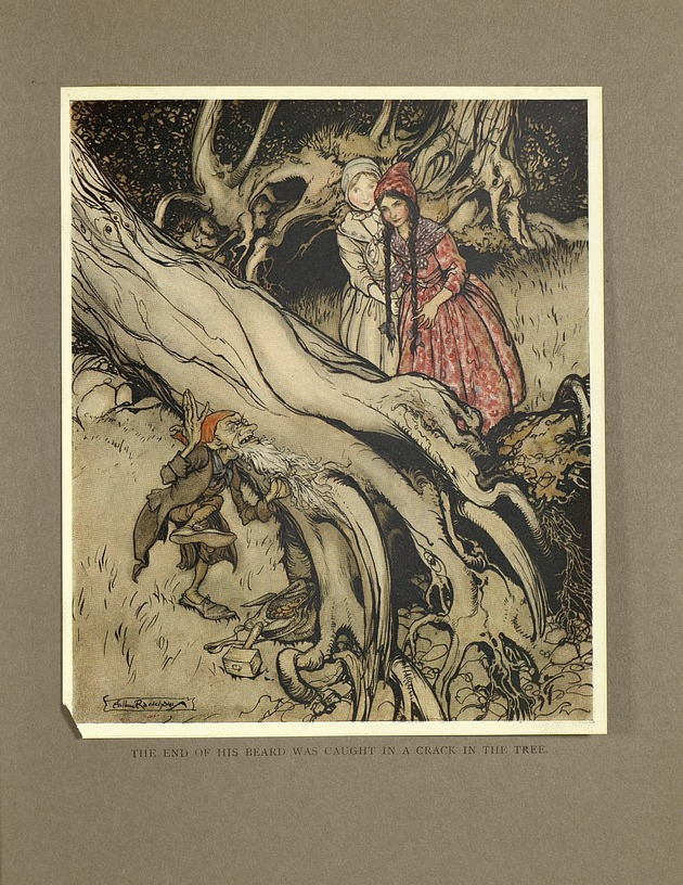 Little brother & little sister and other tales, illustrated by Arthur Rackham (1917)