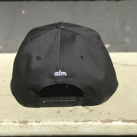 WORDSMITH HAT - black (back)