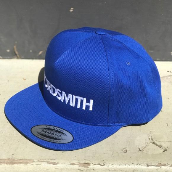 WORDSMITH HAT - blue (side left)