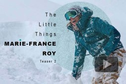 """Snowboarder Marie-France Roy Rips Big Lines in """"The Little Things"""""""