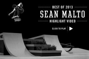 Sean Malto's Best of Street League 2013