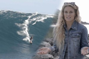 Listen to Beautiful Aussie Surfer's Big Wave Survival Story
