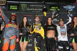 Martin Davalos Wins at Foxboro 2016 – Monster Energy Supercross 250sx Highlights