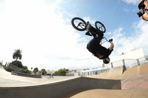 Watch This Insane BMX Backflip to Grind