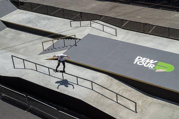 Sean Malto - Dew Tour Long Beach Practice