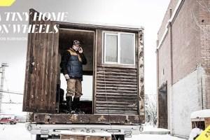Pro Snowboarder Jason Robinson has a Tiny Home on Wheels   Insight